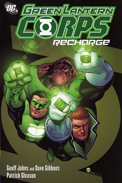 green lantern recharge